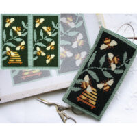 Needlepoint glasses case kit