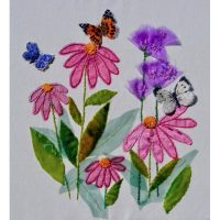 Butterfly Ball Embroidery