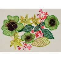 Summer Leaves Embroidery