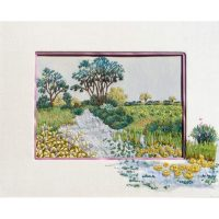 Waterlilies Embroidery