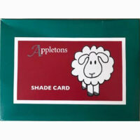 Shade card for Appleton Crewel and Tapestry